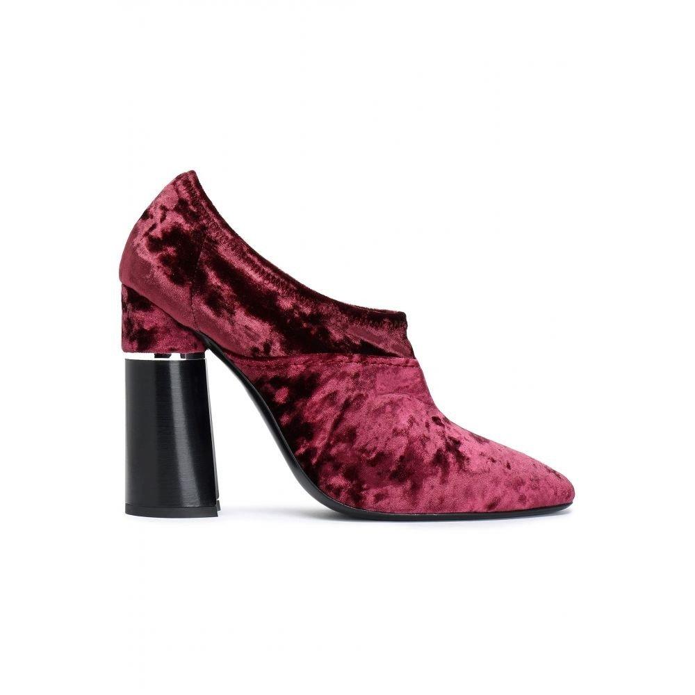 (スリーワン フィリップ リム) 3.1 PHILLIP LIM レディース シューズ靴 ブーツ Crushed-velvet ankle boots [並行輸入品] B07F8J9TSD EU40(残りわずか)