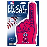MLB Anaheim Angels Die Cut #1 Finger Logo Magnet