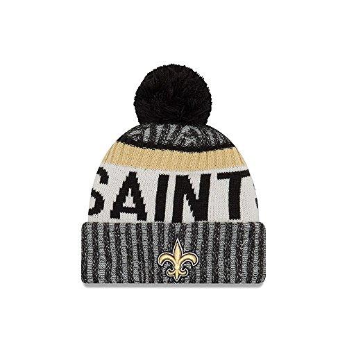 New Era New Orleans Saints NFL Sideline On Field 2017 Sport Knit Beanie Beany by New Era