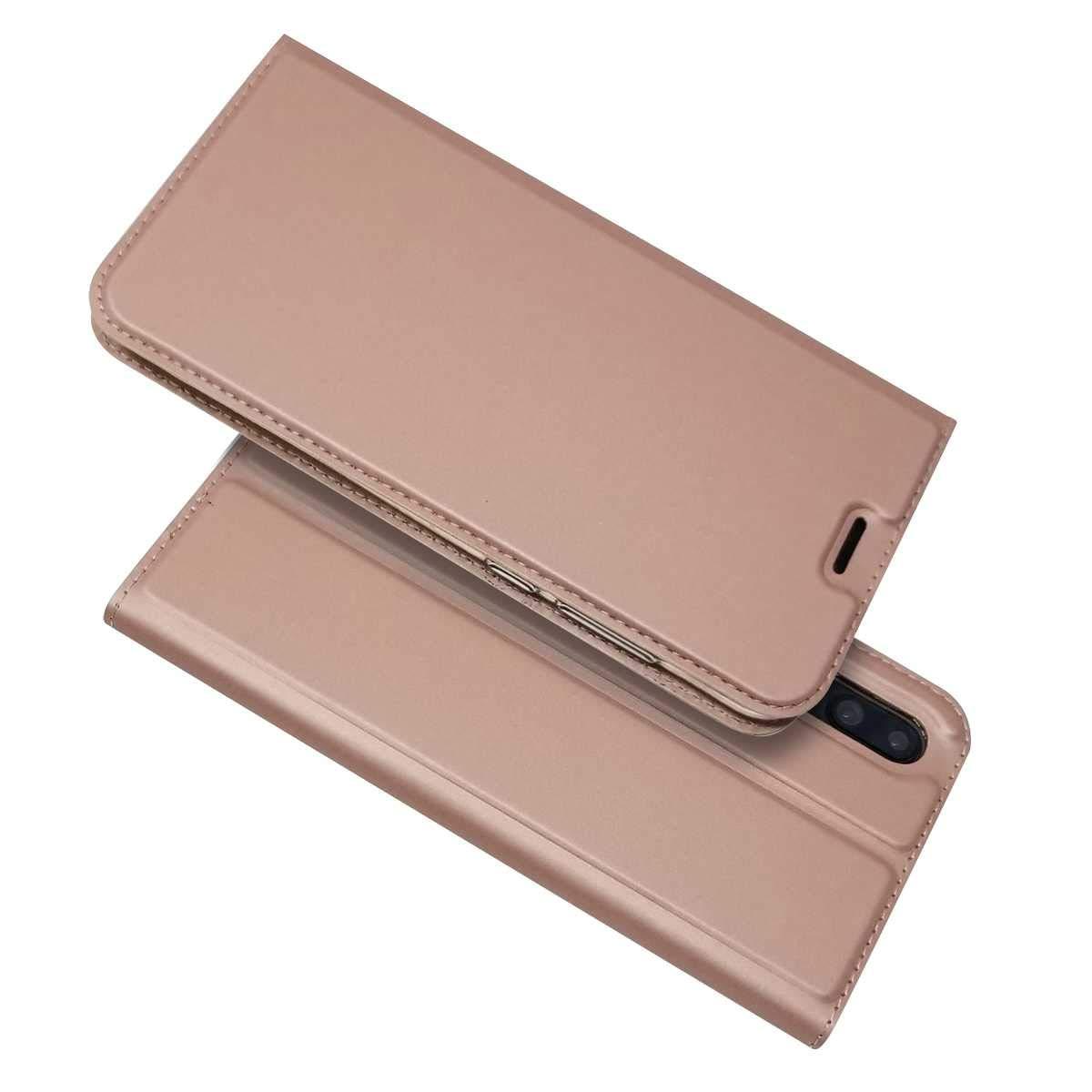 Cover Huawei P8 Lite 2017, Bravoday Custodia Huawei P8 Lite 2017 in Pelle PU, Ultrasottile Design Custodia Caso Libro Pelle e TPU Silicone con Chiusura Magnetica Funzione Supporto Stand, Porta Carte e Protettiva Flip Portafoglio Flip Wallet Case per Huawei
