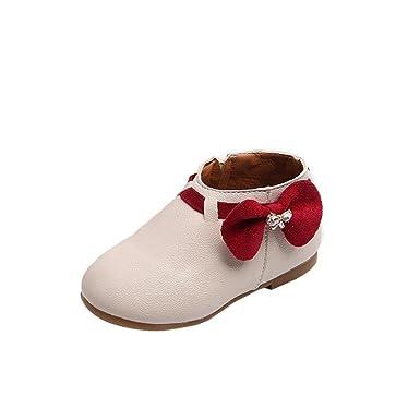 386bd711eac38 URSING Klassischer Schnürhalbschuh Mädchen Chic Floral Martin Stiefel  Kinder Herbst Winter Warm Ankle Spitzenschuhe Baby Retro Sneakers Kinder  Gummi ...