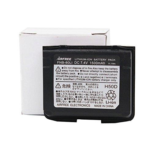 Fnb 80Li Fnb 80Li Fnb 58 Li Ion 1500Mah Rechargeable Battery For Vx 5R Vx 6R Vx 7R Vxa 700 Vxa 710 Hx460 Hx470 Vertex Yaesu Two Way Radio