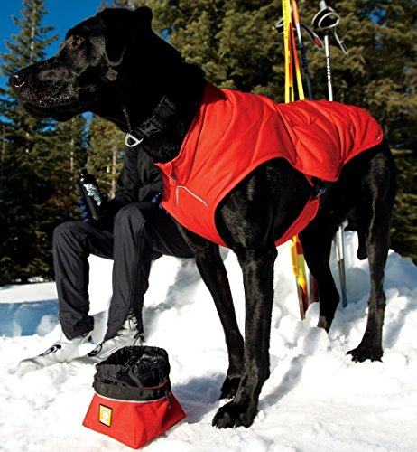 RUFFWEAR ★ RED INSULATED DOG JACKET ★ EASY ON / OFF ★ QUINZEE ★ ALL SIZES (Medium)