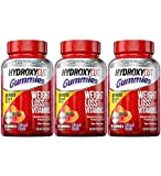 Weight Loss Gummies | Hydroxycut Caffeine-Free Gummy Weight Loss for Women & Men | Non-Stim Weight Loss Supplement | Metabolism Booster for Weight Loss | Weightloss Supplements | 90 Count (Pack of 3)