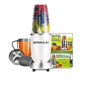 NutriBullet 600 Series Blender, 600 W, 8-Piece set, Black (White)