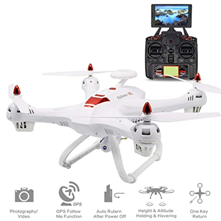 HUAXING Drone sin cámara, WiFi cámara FPV 2.4 GHz RC Quadcopter ...