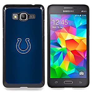 - Colts - - Cubierta del caso de impacto con el patr??n Art Designs FOR Samsung Galaxy Grand Prime G530H G5308 Queen Pattern