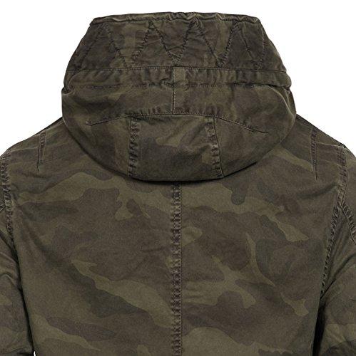 Lag Camouflage Abrigo Para Jet Hombre Army 1qxOpnw7R