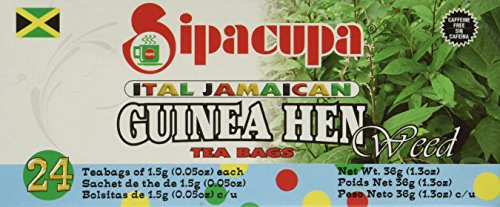 Anamu Tea (Jamaican Guinea Hen Weed 100%) Roots and Leaves by SipaCupa (Root Sarsaparilla Jamaican)