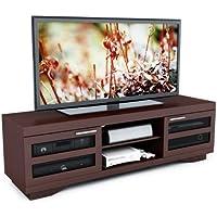 Sonax B-097-RGT Granville 66-Inch Warm Cinnamon Wood Veneer TV Bench