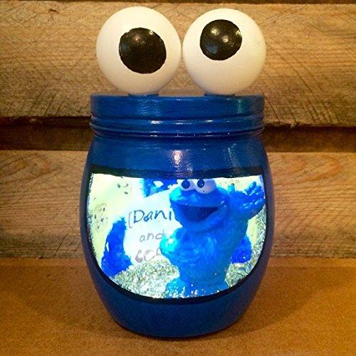 (Cookie Monster night light. Sesame Street night light. Personalized Cookie Monster LED night)
