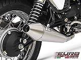 Moto Guzzi V7 Cafe Racer /Classic 08-11 Zard Exhaust System + Steel Mufflers