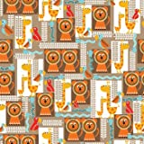 Funky Lion Gift Wrap Roll 24'' X 16'