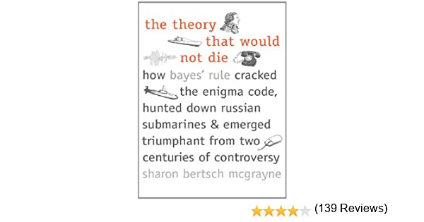 Amazoncom The Theory That Would Not Die How Bayes Rule Cracked - 20 funniest reviews ever written amazon 6 cracked