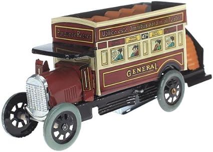 yotijar Juguete de Tren Expreso de Locomotora de Coche de Juguete de Hojalata con Cuerda
