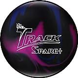 Track Spare Plus Bowling Ball, Purple/Blue/Black, 15 lb