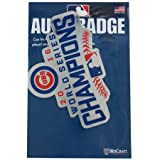 Chicago Cubs World Series Champions Auto Badge