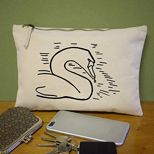 Bolso Accesorios De Azeeda Embrague Case cl00003362 'cisne' RS5xqa