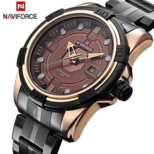 Watch Men Full Steel Watches Quartz Hour Clock Watch Sports Wrist - Mannequin Movie Sunglasses
