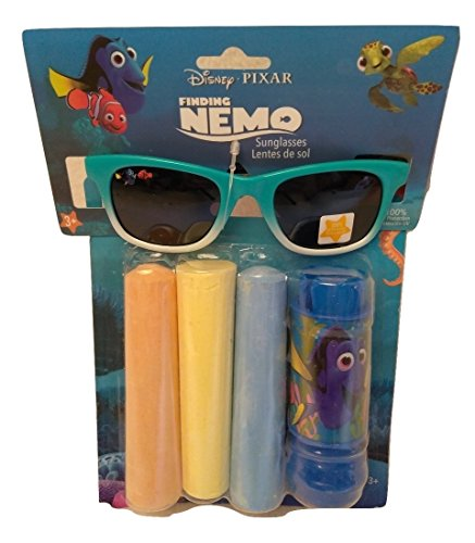 Girls Kids Spring Summer Fun Backyard Outdoor Playtime Chalk Fashion Sunglasses Shades Finding Dory