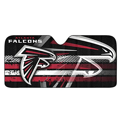 NFL Atlanta Falcons Universal Auto Shade, Black