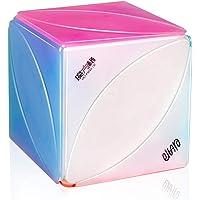 D-FantiX Qiyi Ivy Cube Stickerless Qiyi Mofangge Skewb Cube Leaf Jelly Cube Puzzle Toy