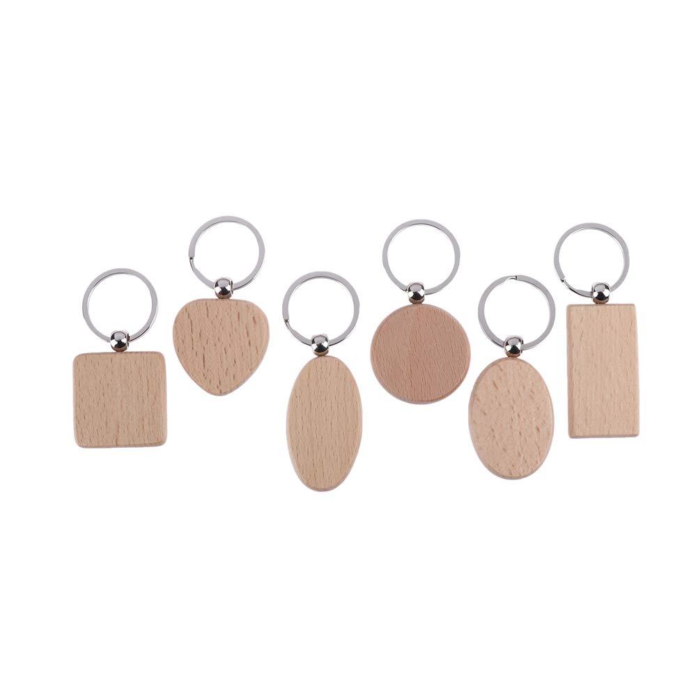 Amazon.com: Ioffersuper - Llavero de madera personalizable ...