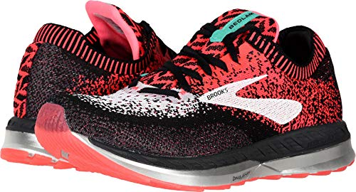 Brooks Women's Bedlam Pink/Black/White 7.5 B US