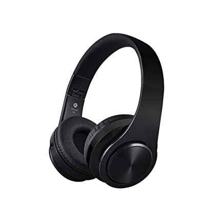 Stereo Handsfree Casque Audio Headphones Bluetooth Headset Earphone Wireless Headphone for Computer PC Aux Head Phone