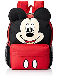 "Mickey Mouse Smiley Face and Ears Kids 12"" Backpack"