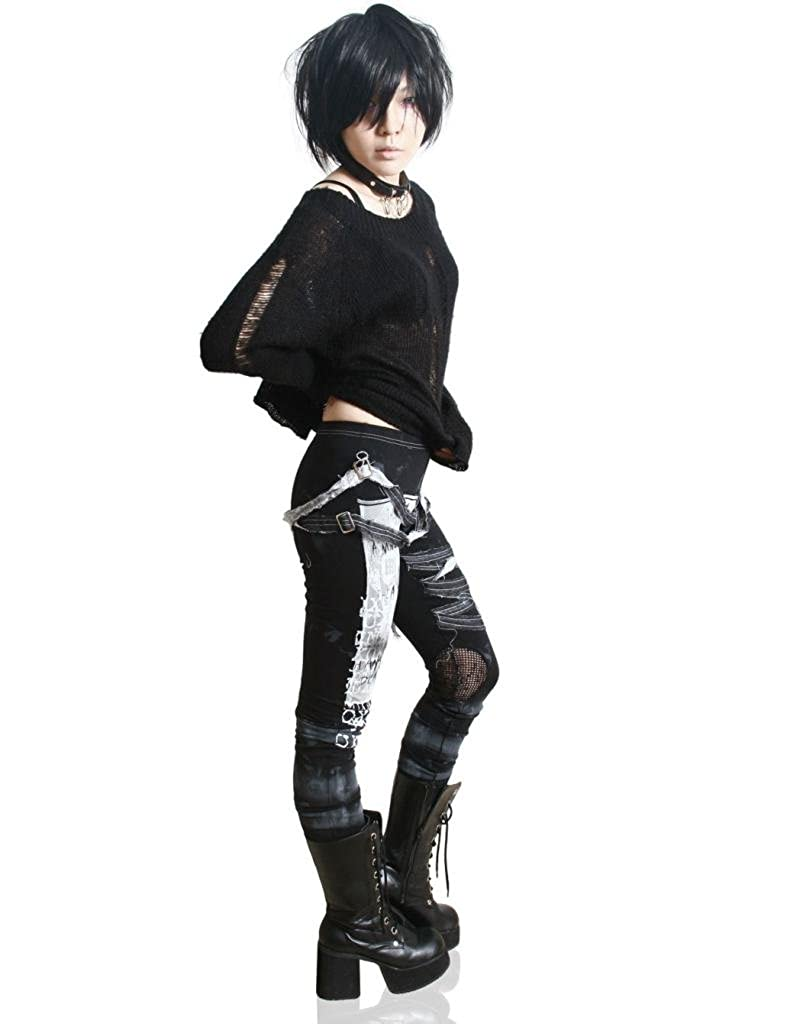 Amazon.com: Leggings de punk góticos para mujer: Clothing