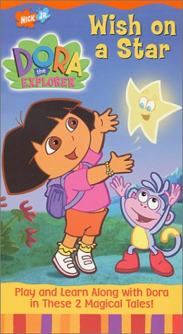 Dora the Explorer - Wish on a Star [VHS] -