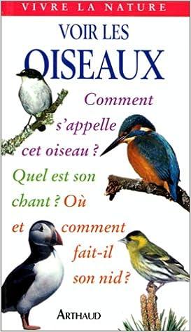 Livre gratuits Voir les oiseaux pdf