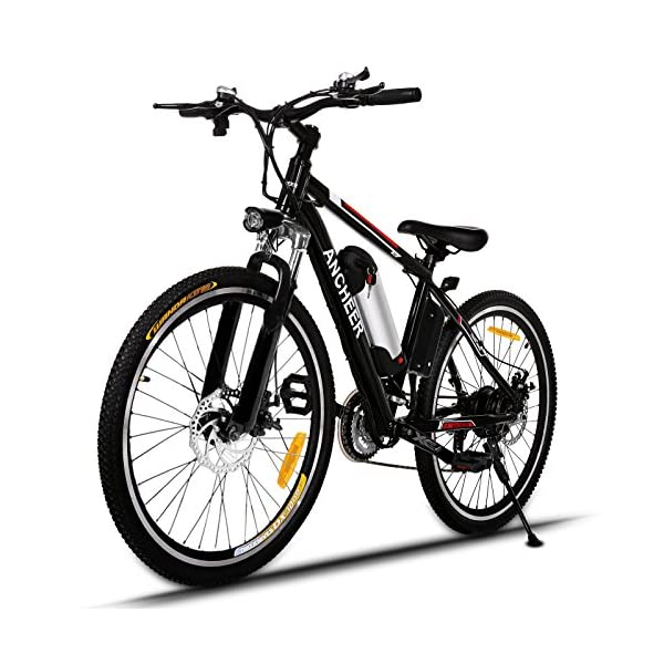 ANCHEER Bicicletta Elettrica Pieghevole Bici da Montagna Ebike con Batteria al Litio da 26 Pollici Grande capacità 36V… 1 spesavip