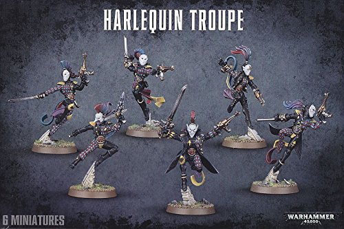 Harlequin Troupe (2017 Edition) SW