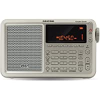Eton Executive Satellite Audio Component Grey Shortwave Radio Silver (NGWSATEXEC)