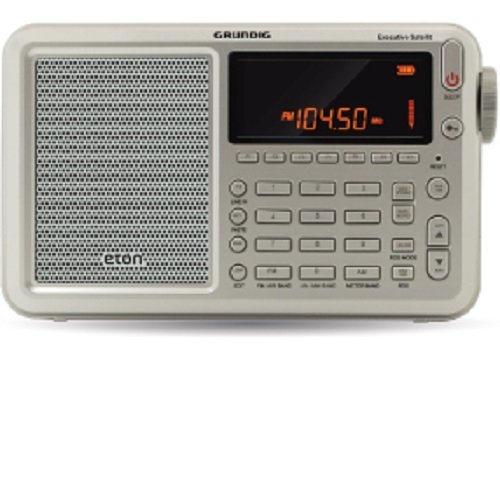 Eton Executive Satellite AM / FM / Aircraft / SSB / Shortwave Radio with RDS, NGWSATEXEC
