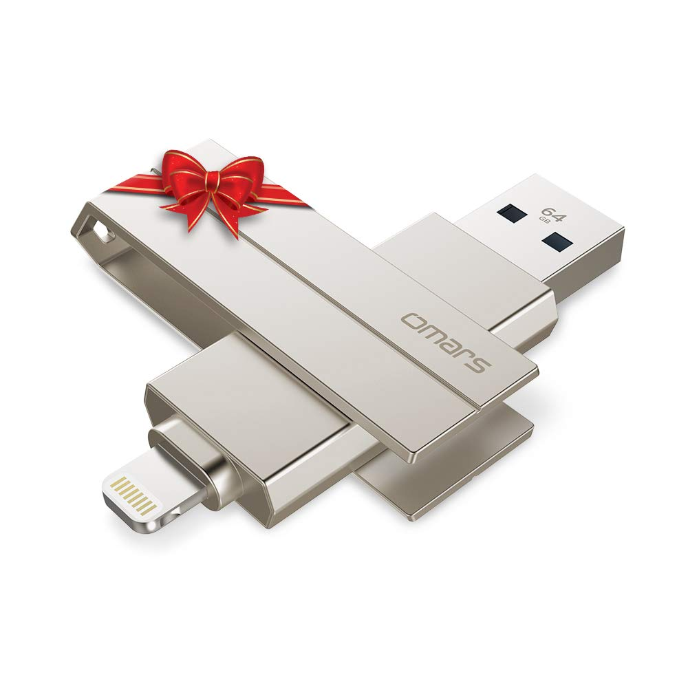 OMARS® 128GB USB 3.0 Flash Drive, External Storage Memory Stick for iPhone iPad PC and MacBook