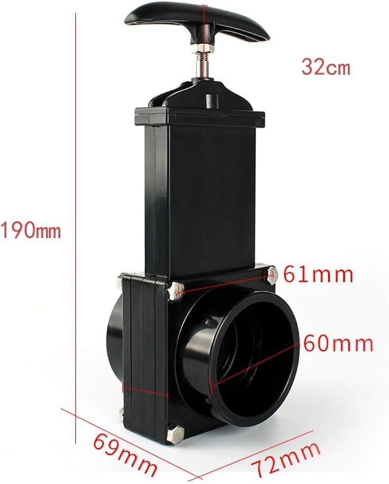 50mm Valvola Di Scarico Drenaggio Rifiuto Aprire Chiudere Apertura Tubo RV