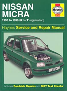 Nissan Micra (1993-99) Service and Repair Manual (Haynes Service and Repair