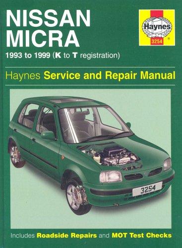 - Nissan Micra (1993-99) Service and Repair Manual (Haynes Service and Repair Manuals)