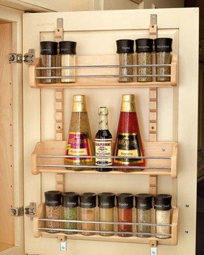 Rev-A-Shelf in. Adjustable Door Mount Spice Rack RS4ASR.21 16.13