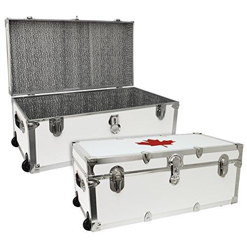 Mercury Luggage Seward Trunk How To Open Compact