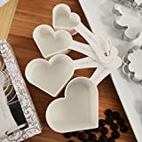 Recipe For Love Heart Shaped Measuring Cups Set - 108 Sets
