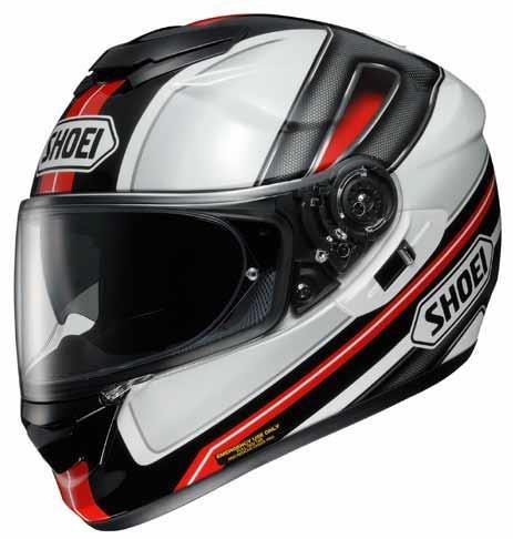 Shoei Dauntless GT-Air Street Bike Racing Motorcycle Helmet - TC-1 / Medium