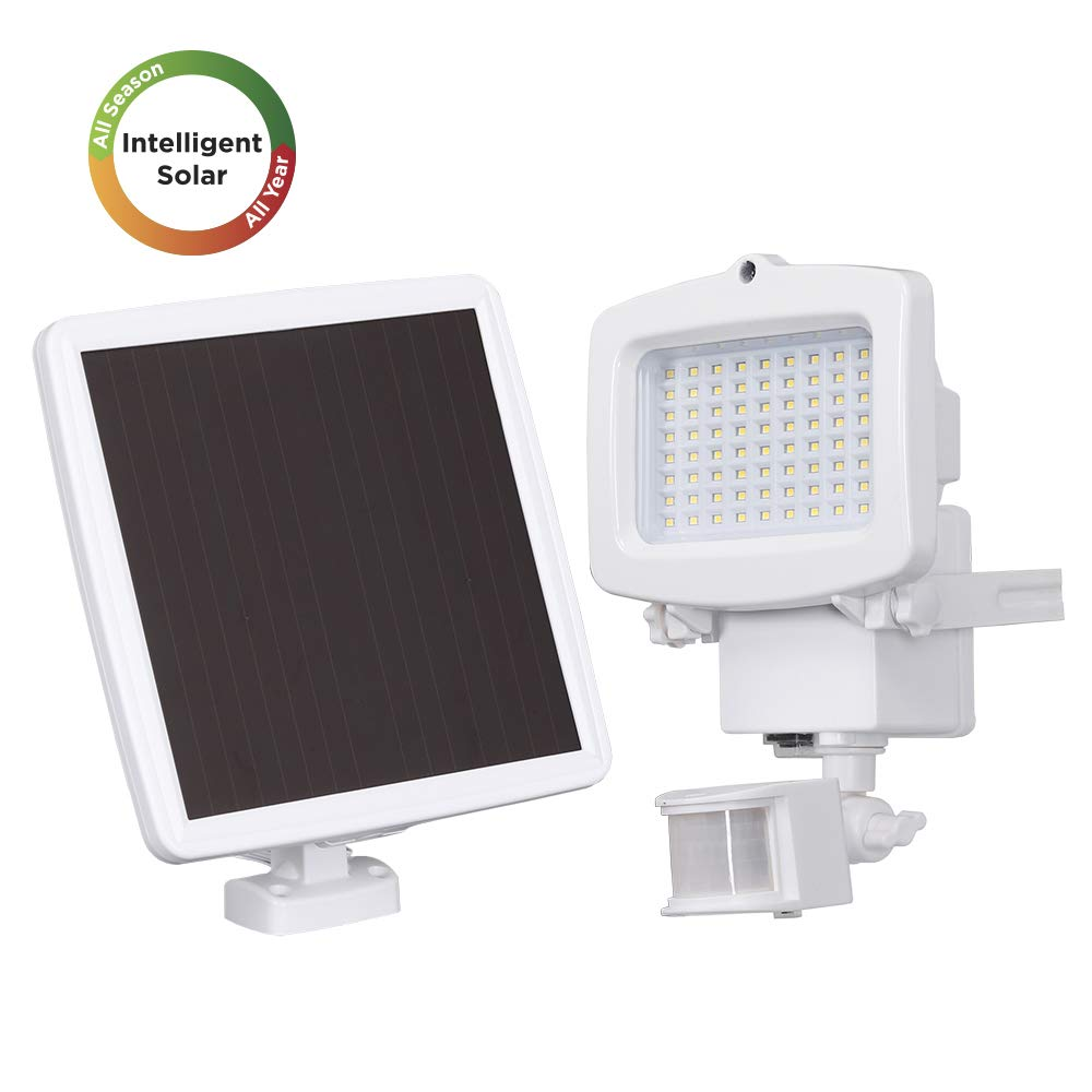 Westinghouse Solar Lights Outdoor 2000 Lumens Solar Motion Sensor Lights with 130°Wide Angle Security Flood Light Easy-to-Install Weather Resistant LED Solar Light Lighting for Front Door,Garage,Yard by Westinghouse
