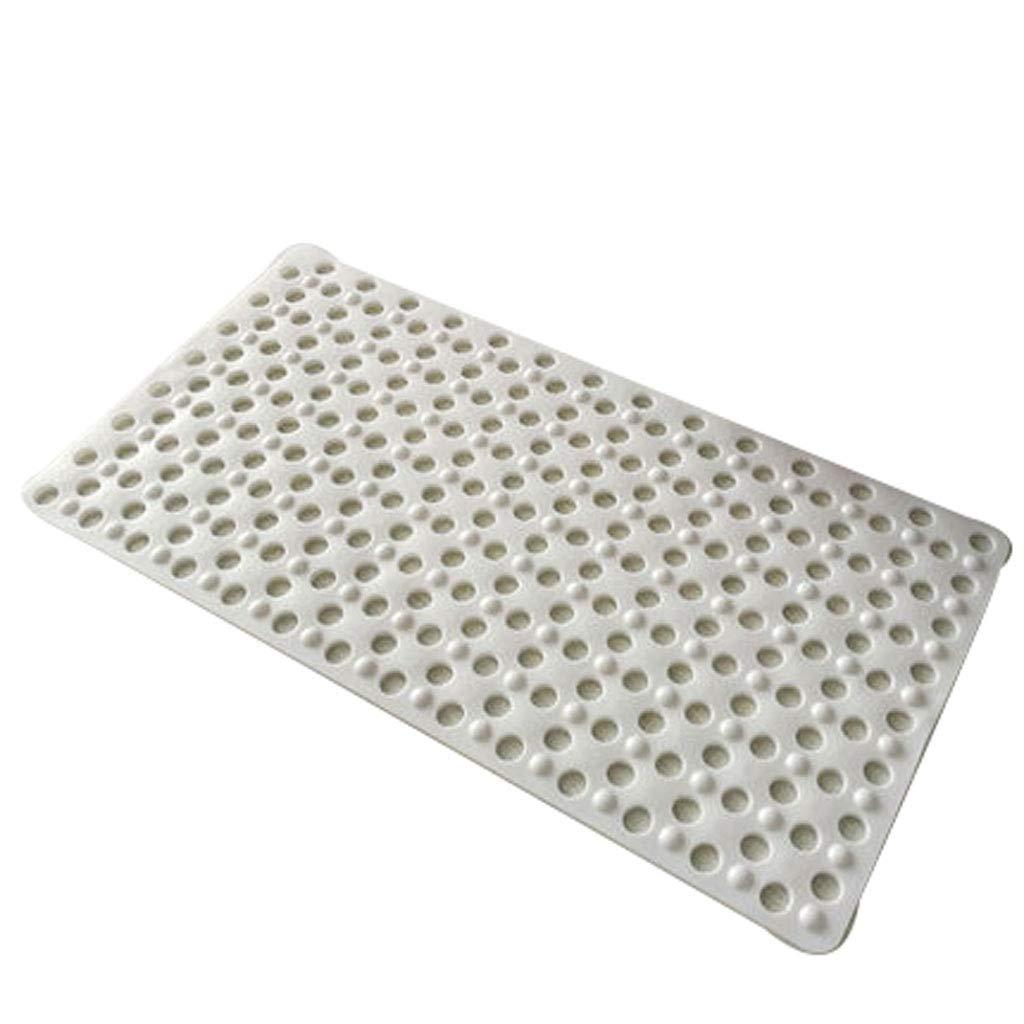 ba/ñera masaje suave Opcional de m/últiples inodoro antideslizante doble anti oxidaci/ón apta para ba/ño ducha cuarto de ducha 78 * 46 cm Home Design Alfombra Alfombra de ba/ño de masaje de PVC