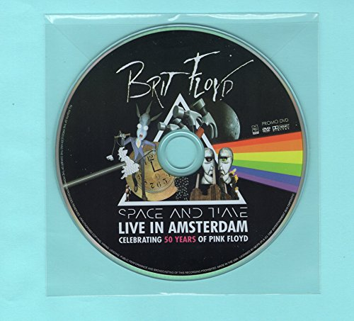 Brit Floyd DVD SPACE AND TIME TOUR AMSTERDAM 2015 Playing Pink Floyd Covers (Brit Floyd Live At Red Rocks Cd)