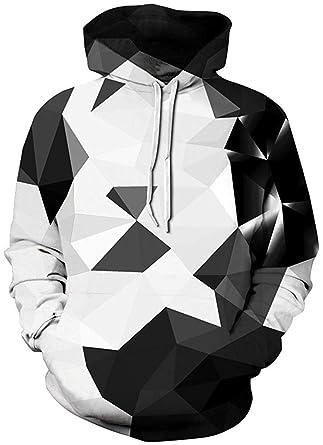 f53f8639426 Pandolah Men s Patterns Print Athletic Sweaters Fashion Hoodies Sweatshirts  (S M