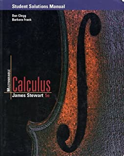 Calculus 5th edition james stewart 9780534393397 amazon books student solutions manual for stewarts multivariable calculus 5th edition fandeluxe Image collections
